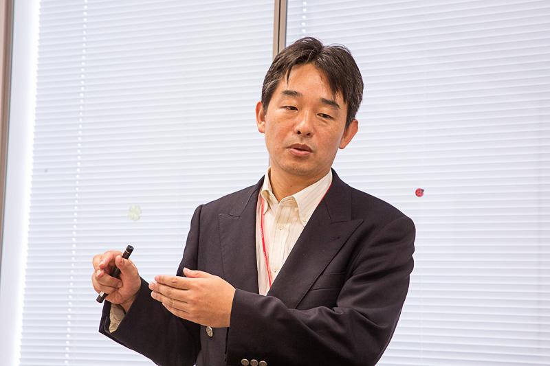 中日本高速道路株式会社 関連事業本部 国際・技術事業部 技術事業室 室長代理の尾高寬信氏。尾高氏は建設部門の技術士でもある