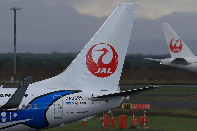 登録記号はJA05RK。JTAとして5機目のボーイング 737-800型機になる