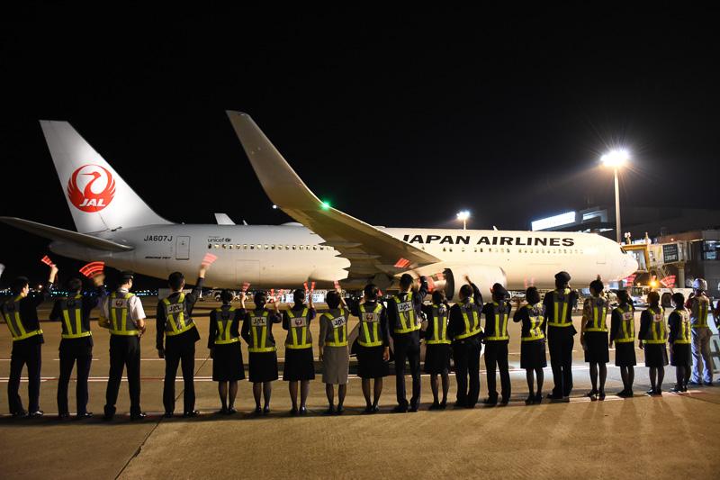 JL770便はJAL SKY SUITE仕様のボーイング 767-300ER型機(SS6)で運航する