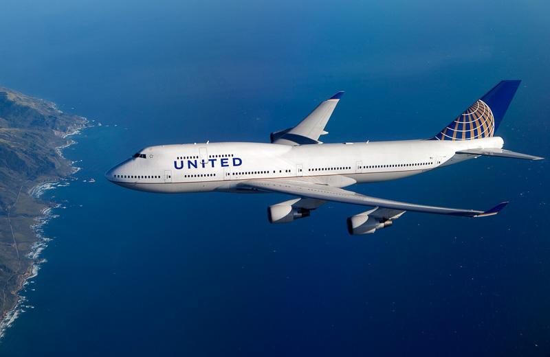 ユナイテッド航空がボーイング 747型機のラストフライトを発表