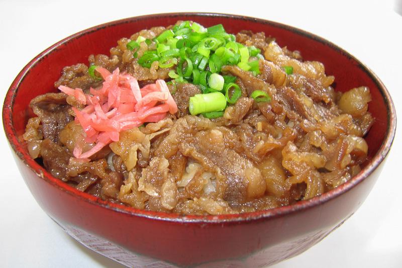 山形牛大好き丼(山形県・味の梅ぱち)