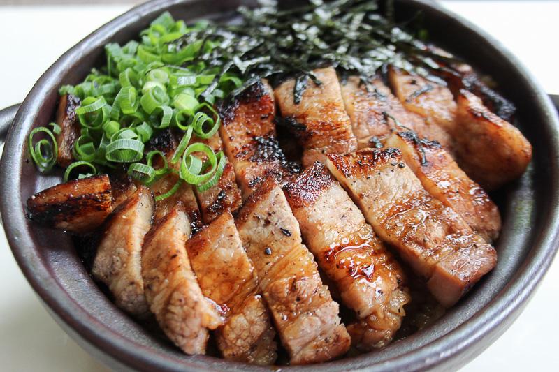 信州高森 PORK ひつまぶし丼(長野県・南信州の食を盛り上げる会)
