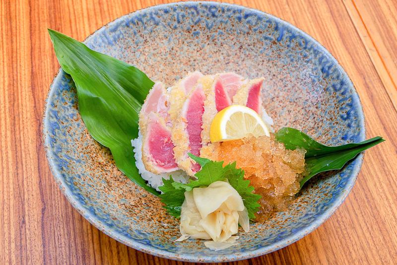 鮪(まぐろ)中とろカツ丼(和歌山県・鮮魚 創作和食 旨い酒 bodai)