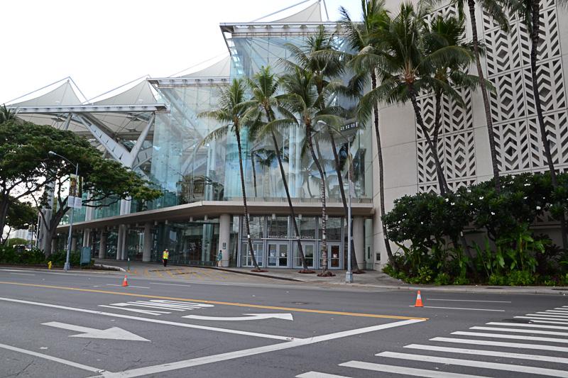 9月19日~21日まで「グローバル・ツーリズム・サミット」が開催されているハワイコンベンションセンター