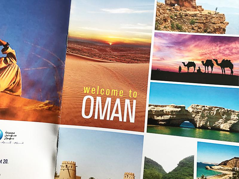 こちらはオマーンのBahwan Tourism LLCブース