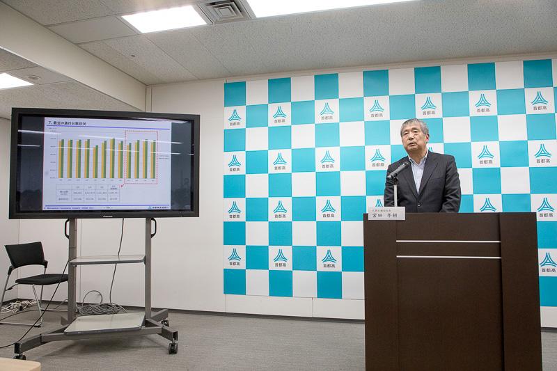 2017年度工事の進捗と首都高が開発した新技術について説明した
