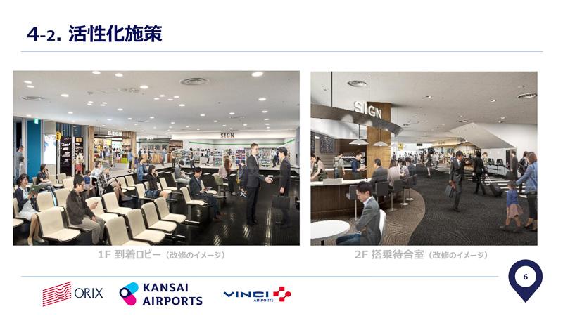 神戸空港改修のイメージ