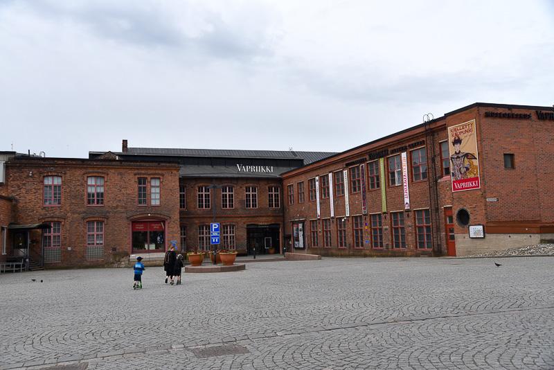 タンペッラ製作所の跡地を再利用した「博物館センター・ヴァプリーッキ」