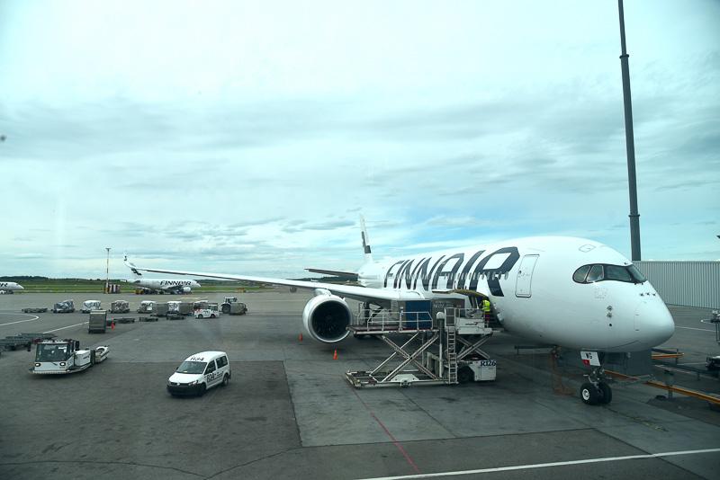 AY071便はエアバス A350-900型機