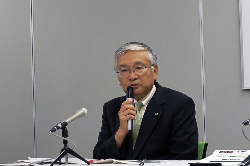東日本高速道路株式会社 取締役兼専務執行役員 管理事業本部長 遠藤元一氏