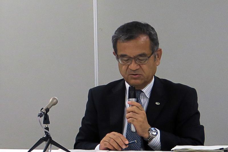 東日本高速道路株式会社 取締役兼常務執行役員 サービスエリア事業本部長 萩原隆一氏