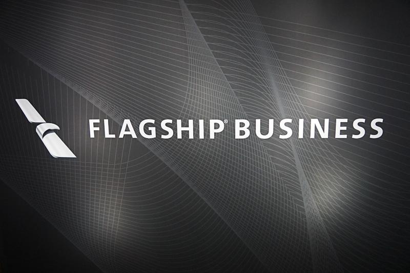 アメリカン航空のビジネスクラスは「Flagship Business」