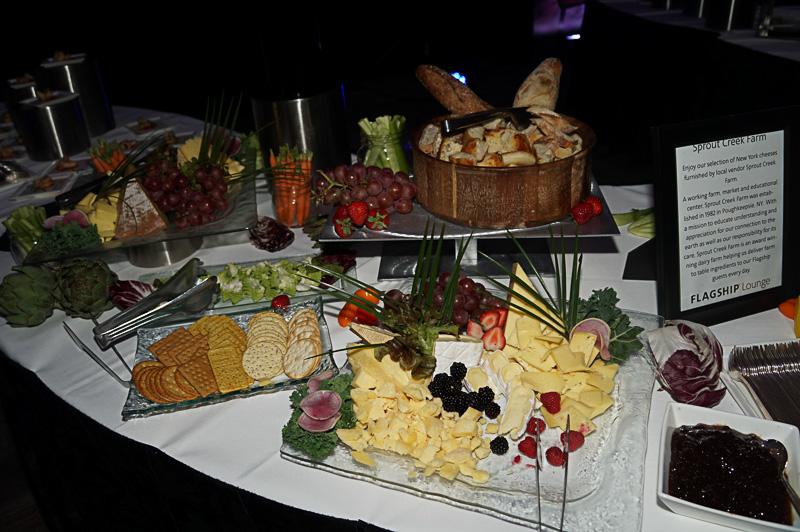 Flagship Loungeで出されている食事の例