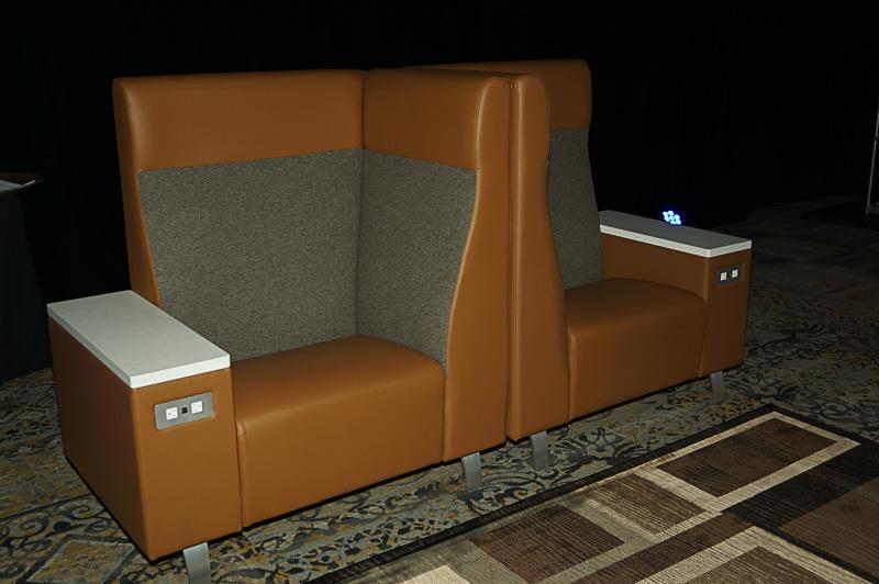 Flagship Loungeのシート