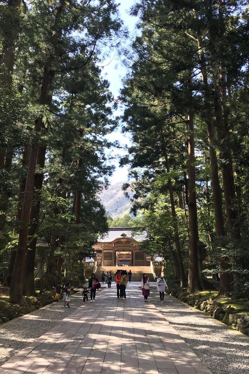 1位:弥彦神社(新潟県弥彦村)