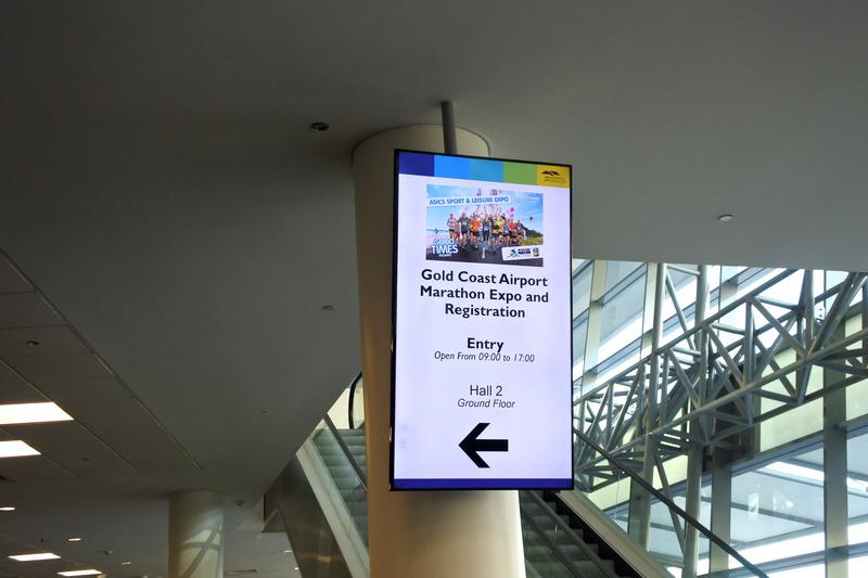 「ゴールドコースト・コンベンション・エキシビジョン・センター」では「Gold Coast Airport Marathon Expo and Registration」とともに「ASICS SPOTS & LEISURE EXPO」も同時開催
