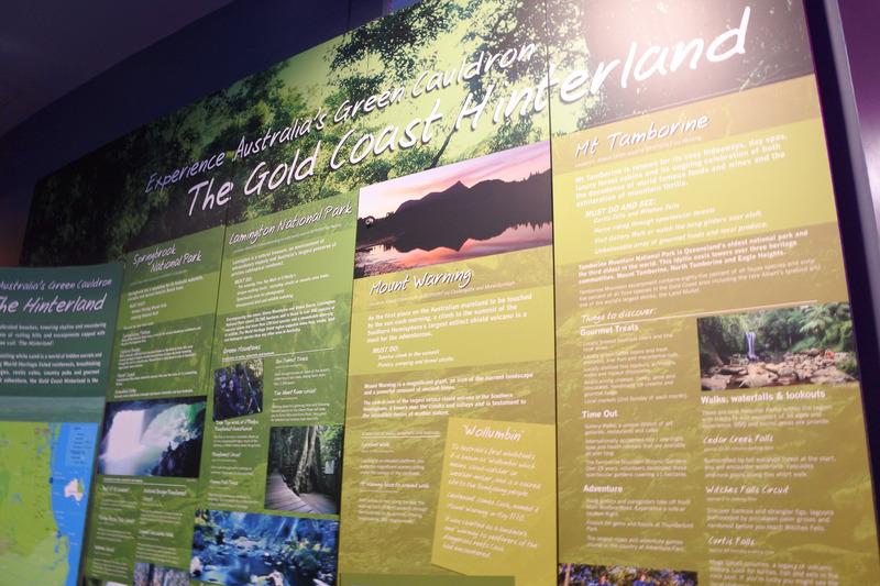 ゴールドコーストの地域の歴史を学ぶ展示などもある