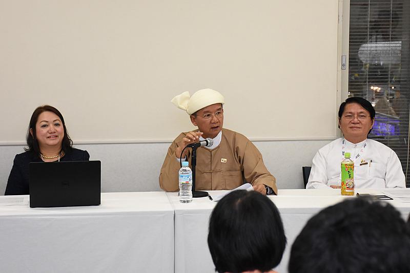 ミャンマー観光連盟が記者会見を行なった