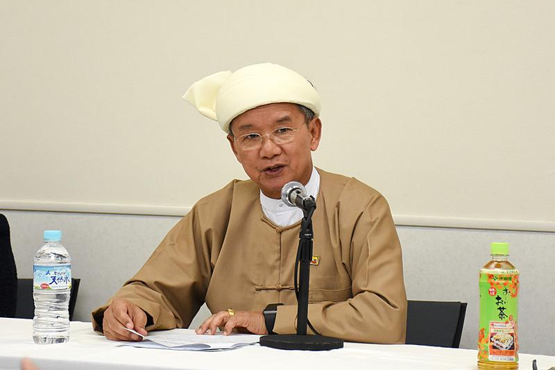 ミャンマー ホテル・観光大臣 H.E. U Ohn Maung氏