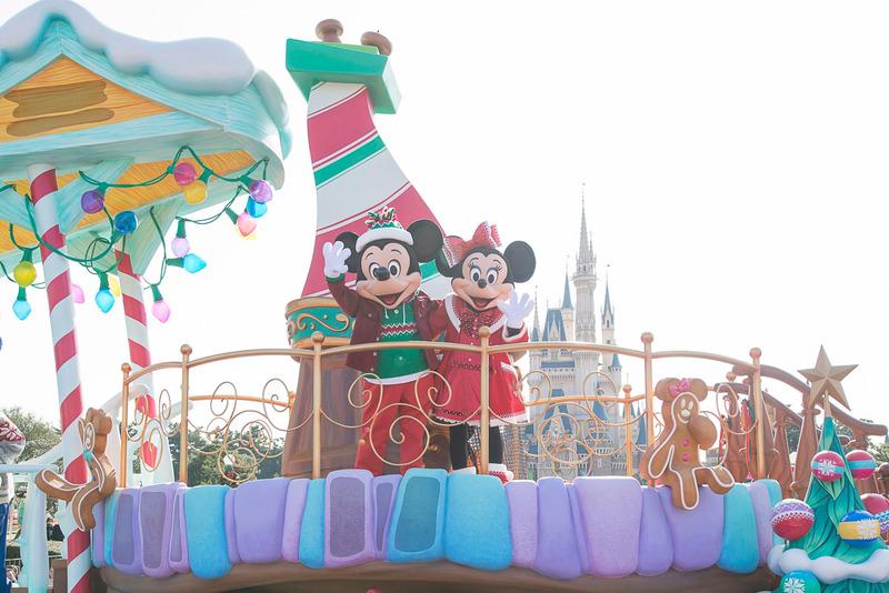 東京ディズニーリゾートのクリスマスは11月8日~12月25日開催