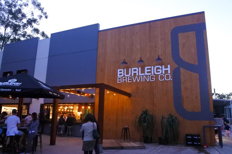 地ビールが自慢の「Burleigh Brewing Company」