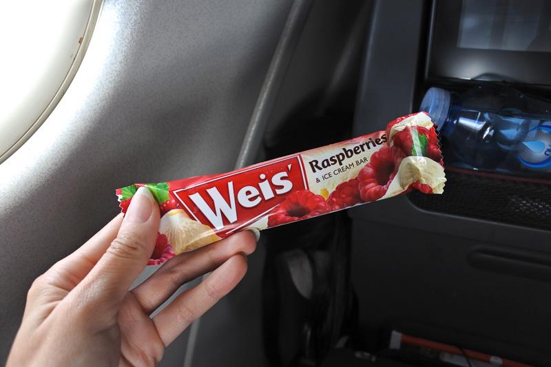 「Weis' Raspberries & ICE CREAM BAR」のアイスクリームも提供