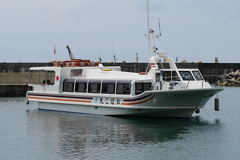 笹川流れ塩工房からすぐの場所にある桑川漁港からは、笹川流れの遊覧船「笹川流れ観光汽船」が運航されている