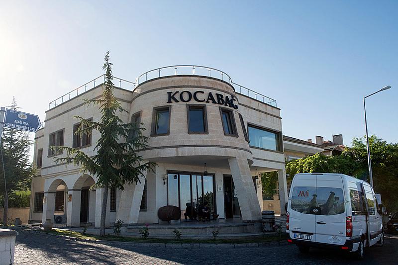 KOCABAĞは巨大な一枚岩の城塞で有名なウチヒサルにある家族経営のワイナリー