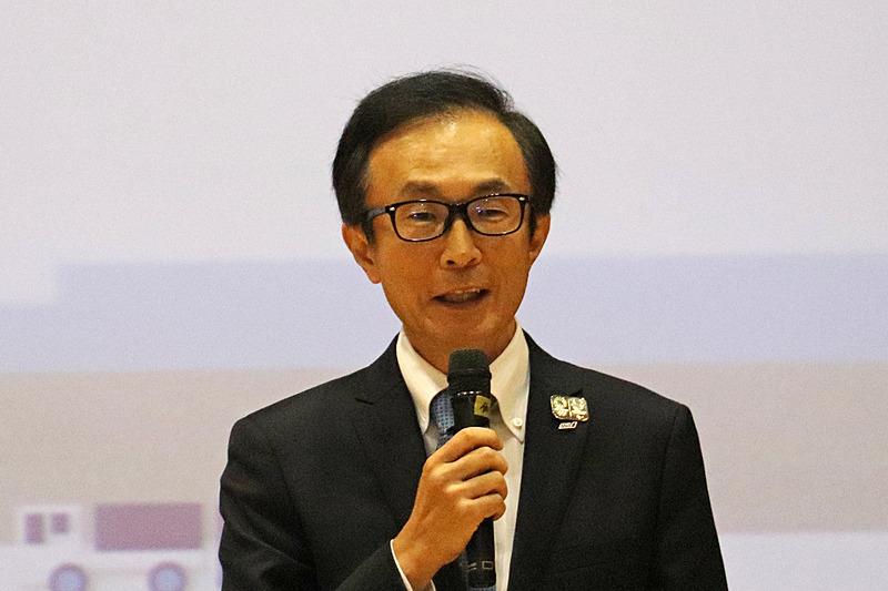 ANAホールディングス株式会社 取締役 執行役員 高田直人氏が挨拶