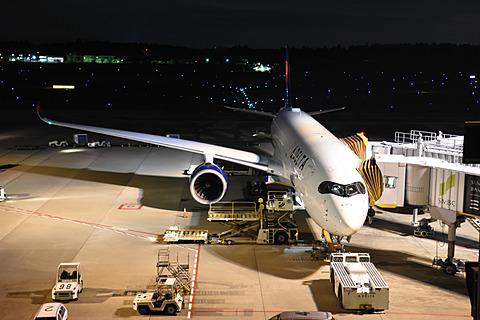 デルタ航空のエアバス A350初便が成田に到着。退役したジャンボを代替 デルタ航空が成田~デトロイト線にエアバス A350-900型機を就航
