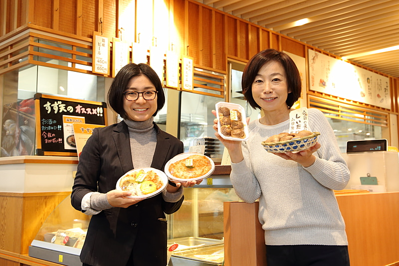 かまぼこ愛に溢れ、楽しく丁寧に説明してくださった鈴廣 広報の清水郁美さん