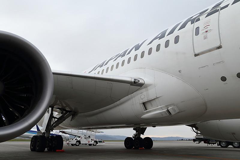 中央翼は左右の主翼と胴体を結合するパーツで、外部からは見えない
