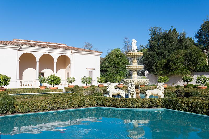 ルネサンス期をテーマにしたイタリア庭園