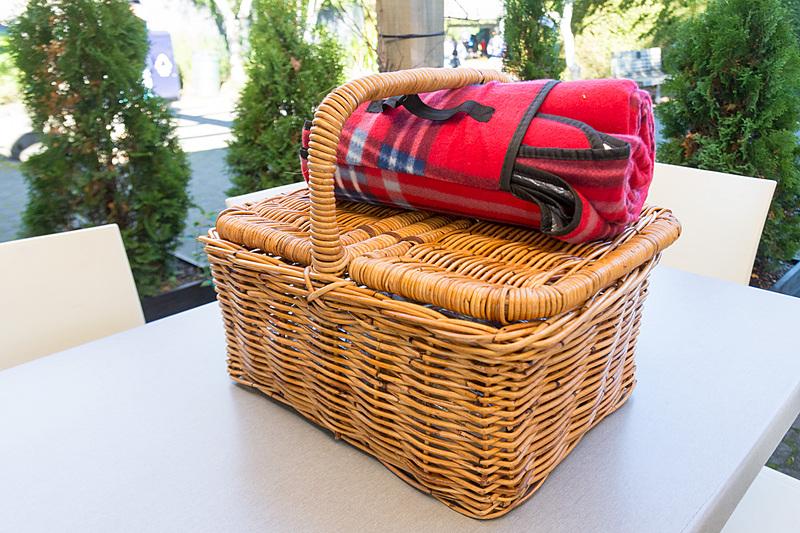 ハミルトン・ガーデンズ・カフェでは、事前予約することでバスケット入りのランチを購入できるので、ピクニック気分の庭園巡りも