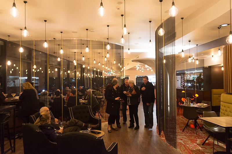 ノボテル・ニュー・プリマス・ホブソンの併設レストラン「Governors」