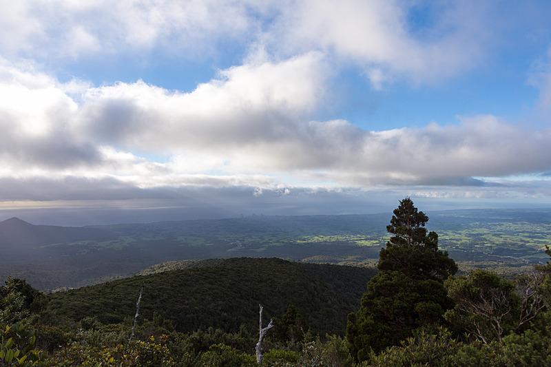 標高1000mを超え、美しい風景を望めるようになってくる