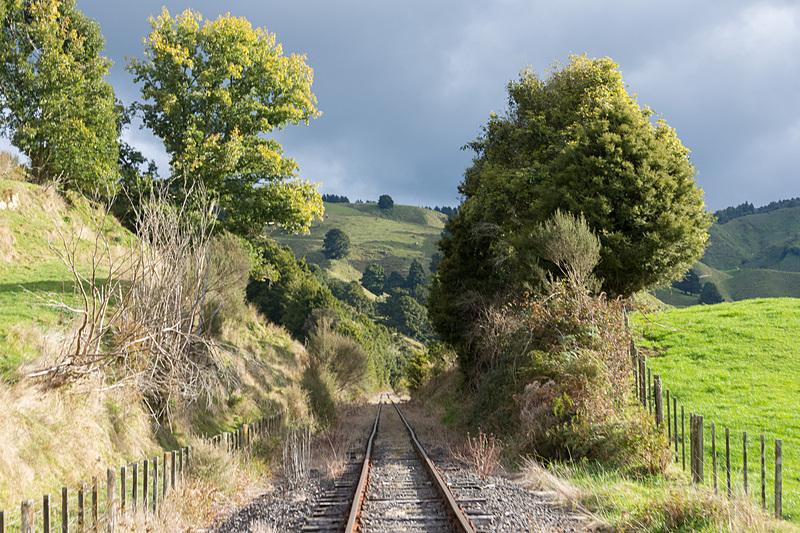 廃線感がたまらない線路