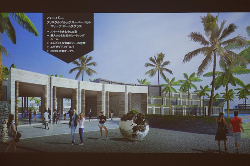 ポートダグラスに2020年建設予定の「ハーバー」