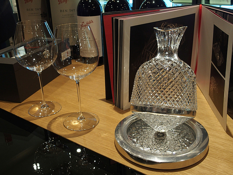 2012 Grange Imperial 750mlとPenfolds Aevum Crystal Decanterも販売している
