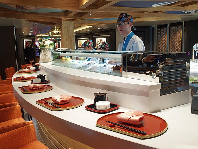 UmiUmaの寿司バー
