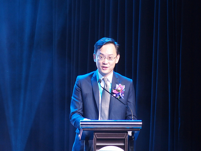 チャンギ空港グループ 空路ハブ開発マネージングディレクターのLim Ching Kiat氏