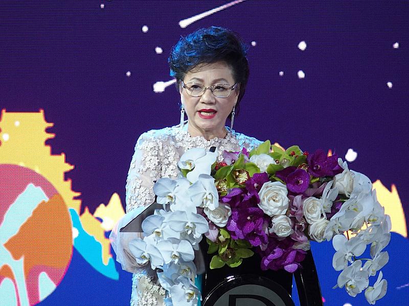 ワールド ドリーム名付け親(World Dream's Official Godmother)のPuan Sri Cecilia Lim氏