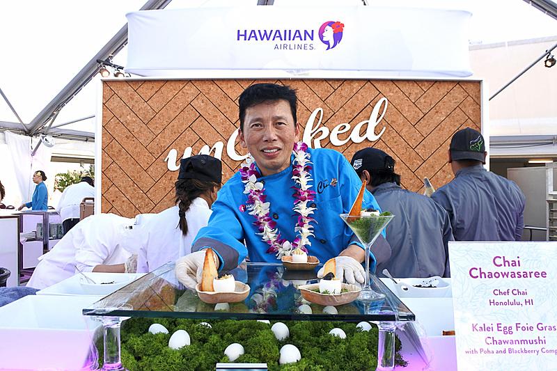 ハワイアン航空のエグゼクティブ・シェフのChai Chaowasaree氏