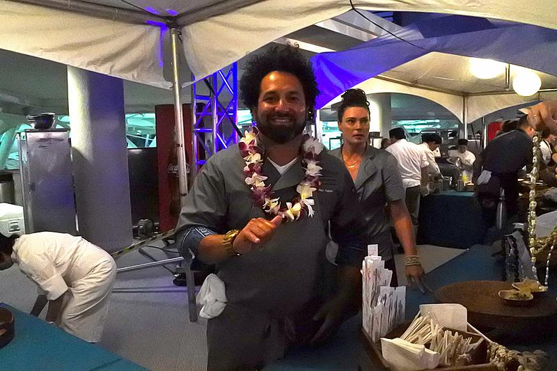 「Liholiho Yacht Club」のオーナーシェフであるRavi Kapur氏