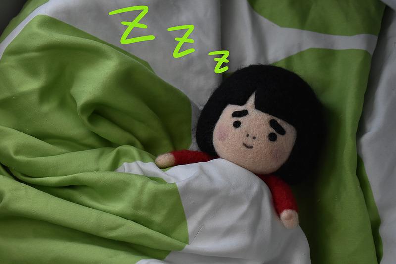 おやすみなさいですの
