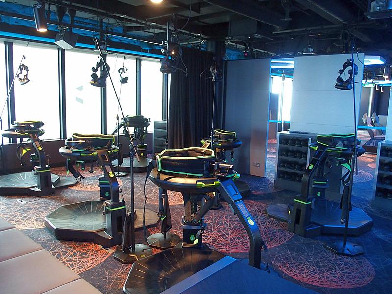 ESC Experience Labに設置したVirtuix Omniと