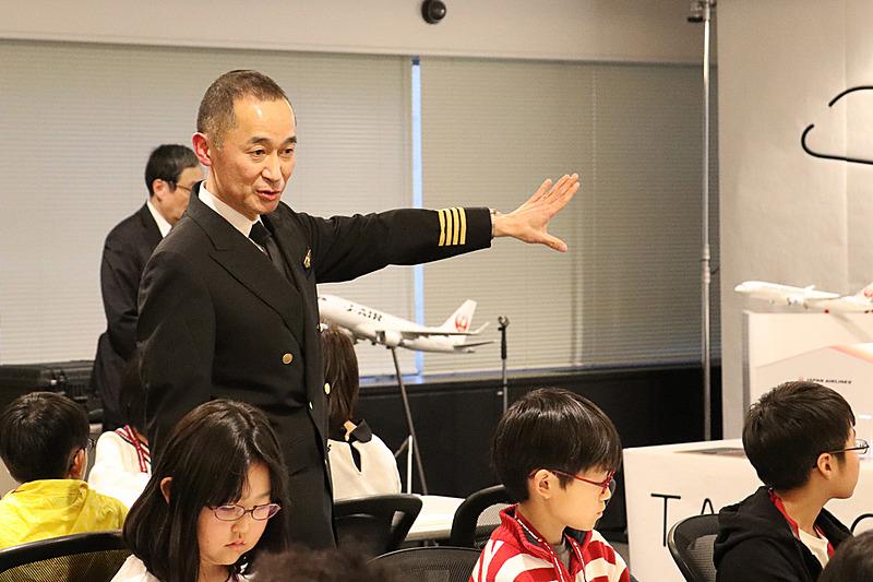 機長の靍谷忠久氏から技術的な部分が解説された