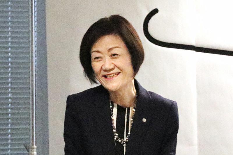 日本航空株式会社 代表取締役専務 大川順子氏