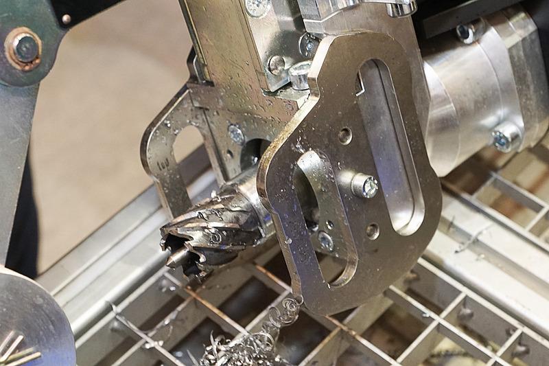 10.20のドリル刃は複雑な形状。軽い力で穴が開く