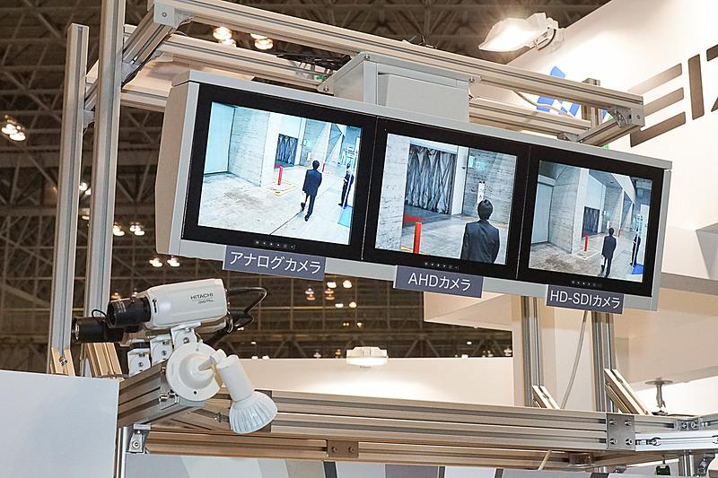 車掌用ITVモニタ。東急電鉄ホームに監視用として採用されている